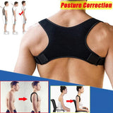 2019 New Back Shoulder Posture Correction Band Humpback Back Pain Relief Corrector Brace
