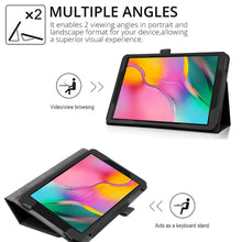 Load image into Gallery viewer, 10 Colors Flip Stand Professional Ultra Slim Leather Protective Shell Case Tablet Cover
