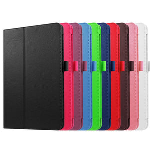 10 Colors Flip Stand Professional Ultra Slim Leather Protective Shell Case Tablet Cover