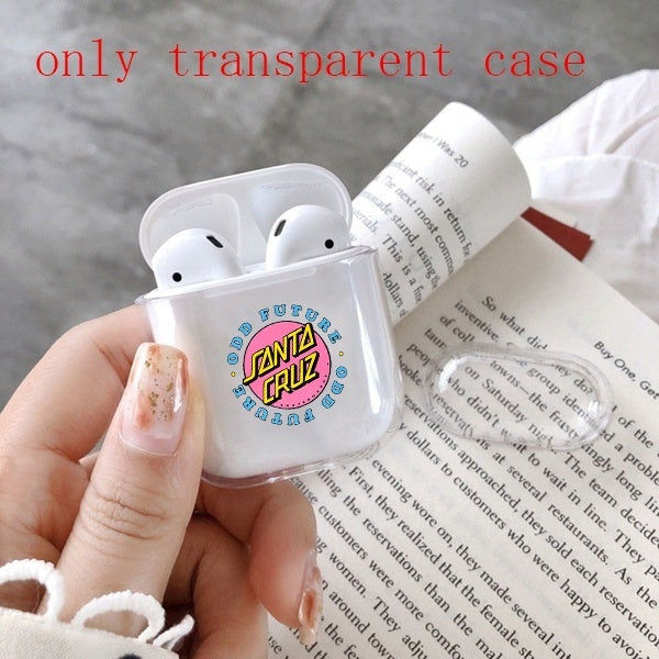 cruz Earphone Transparent Case Cover For Apple Airpods( Only Transparent Airpods Case)