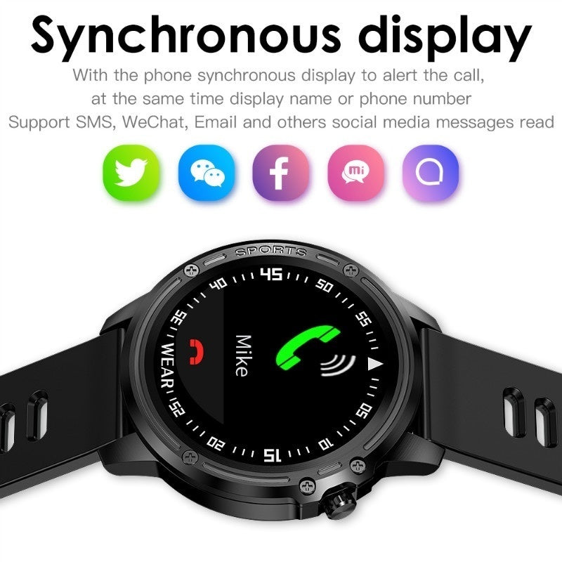 New ECG PPG Men Sports Smart Watch Fitness Tracker with Heart Rate Blood Pressure Blood Oxygen Smartwatch Multiple Sports Mode Bluetooth Smartwatch Fo Iphone and Android