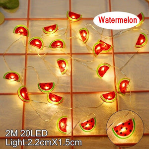 2M 20 LED String Light for Hawaiian Party Baby Shower Wedding Decoration Lights