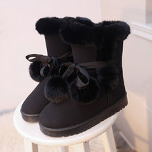 Load image into Gallery viewer, 2019 New Women Winter Snow Boots Fur Wool Shoes Super Warm Plush Boots Plus Size 35-43
