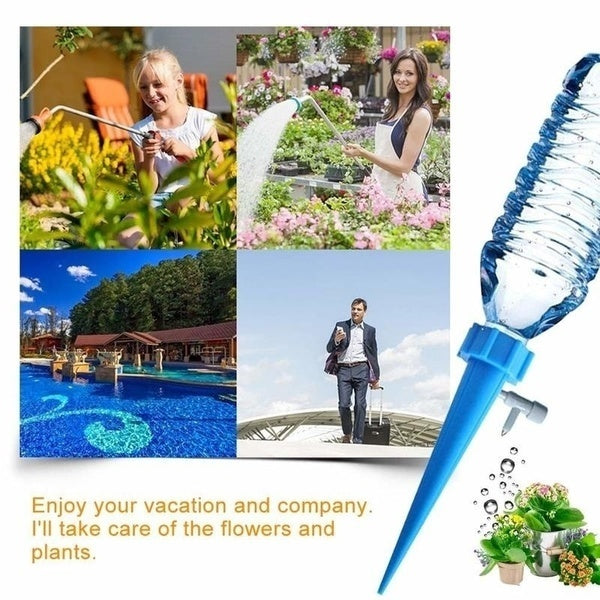 Auto Drip Irrigation Watering System Automatic Watering Spike for Plants 6/12/18Pcs