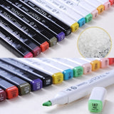 12/24/30//40/60 Colors Artist Dual Head  Copic Markers Set School Drawing Sketch Oily Amine Design Designer