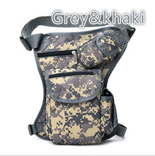 Load image into Gallery viewer, 1PC Cotton Outdoor Leg Bag Sport Canvas Waist Bag Money Belt Fanny Pack