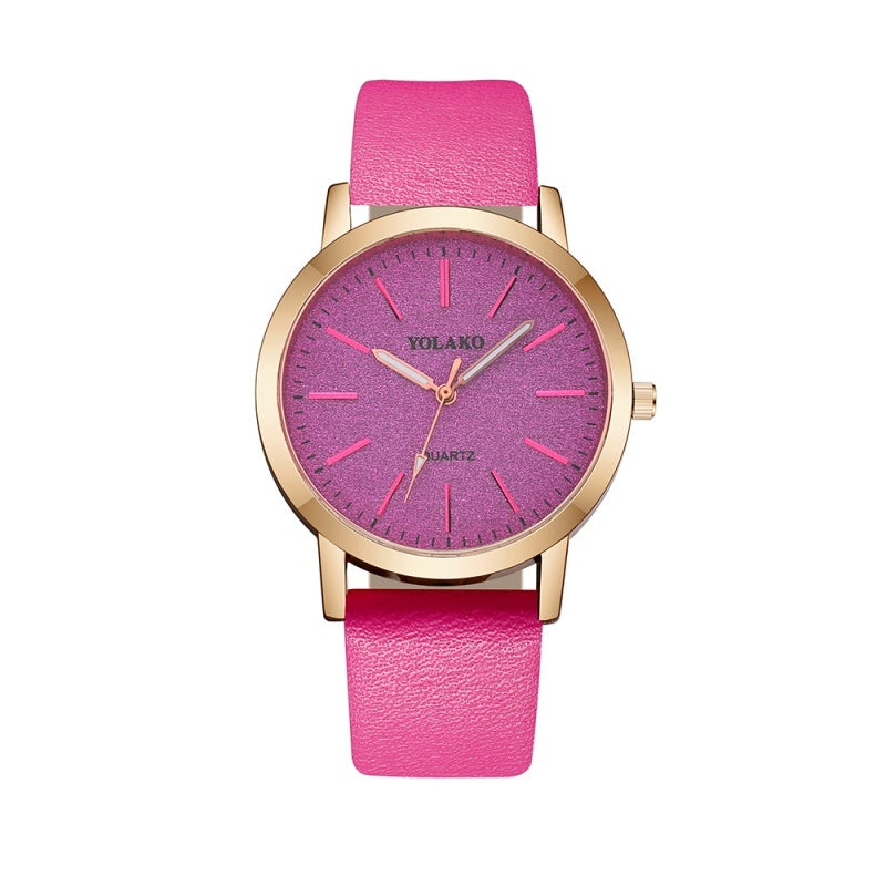 Fashion Womens Watches Ladies Simple Watches Leather Strap Watches Quartz Wrist Watch Clock For Women Reloj Feminino
