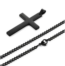 Load image into Gallery viewer, Vintage Cross Pendant Necklace Stainless Steel Necklace New Design  Pendant Necklace Men Women Necklace