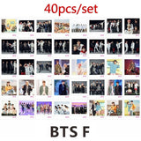 40Pcs/8Pcs New Kpop 2019 Bts Family Portrait Festa 6 Paper Photo Card Jungkook V Photocard Poster