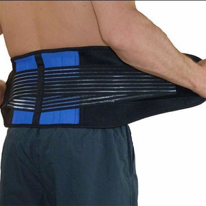 Neoprene Double Pull Lumbar Lower Back Belt Pain Relief Exercise Belt Breathable Lightweight Material (Size S/M/L/XL/2XL/3XL/4XL/5XL/6XL)