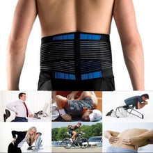 Load image into Gallery viewer, Neoprene Double Pull Lumbar Lower Back Belt Pain Relief Exercise Belt Breathable Lightweight Material (Size S/M/L/XL/2XL/3XL/4XL/5XL/6XL)