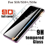 New 9D Full Cover Tempered Glass Screen Protector for Samsung Galaxy S10 S10+ S10e S8 S9 Plus S6 S7 Edge Note 8 9 Screen Protector