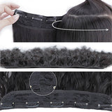 20 inch Long Kinky Curly Hair High Temperature Synthetic Corn Wave Hair Extension Clip in Fiber Hair Pieces