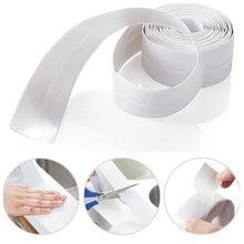 Load image into Gallery viewer, 1PCS Home PVC Material Sink Crack Strip Kitchen Bathroom Bathtub Corner Sealing Tape Waterproof Mold Seal Strip Tape Corner Sticker Waterproof Strip Sealing Tape (Width 2.2cm length 1m or 2m or 3m)
