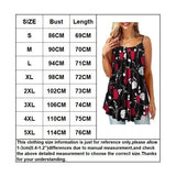 NEW Summer Plus Size Tank Top for Women Spaghetti Strap  Flower Print Sleeveless Casual Top
