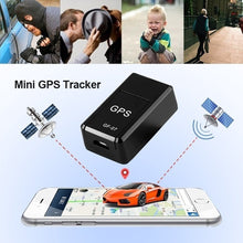 Load image into Gallery viewer, Mini Magnetic GPRS Locator GPS Tracker Anti-lost Recording Global Tracking Device for Vehicle/Car/Person/SOS /GSM/GPRS Tracking Device Anti-lost