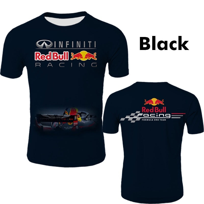 Men's Summer Fashion Racing Team T-shirt Motorcycles Team Short Sleeve Tees