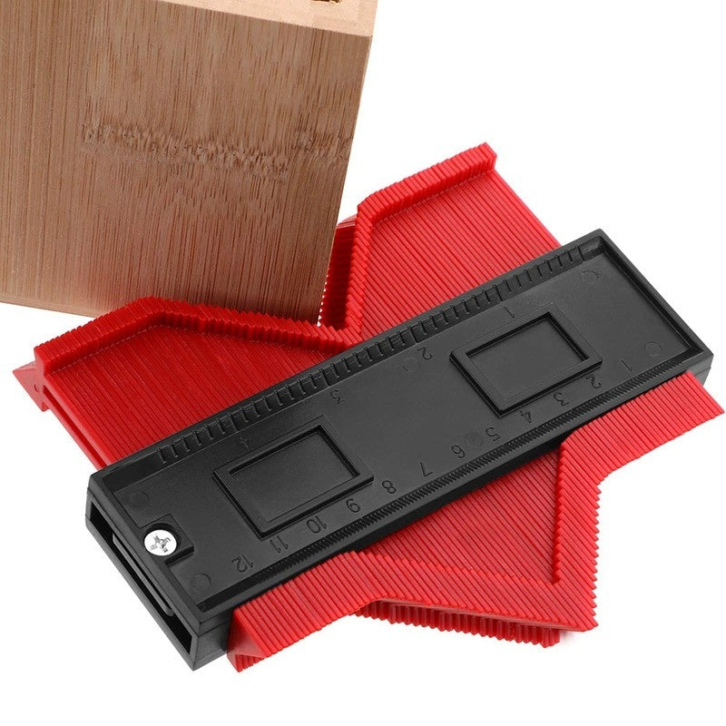 120/140MM  Long Plastic Profile Copy Gauge Contour Gauge Duplicator Standard Wood Marking Tool Tile Laminate Tile General Tools