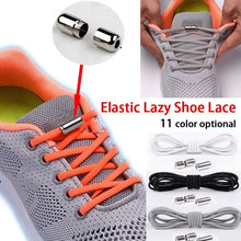 Load image into Gallery viewer, 1 Pair New Fashion Round Elastic Shoe Laces for Kids and Adult Sneaker Quick Shoelace Lazy Laces Fashion Sports Accessories