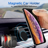 Magnetic Car Phone Holder For Phone In Car Mobile Phone Air Vent Mount Stand For Tablets Smartphones Support