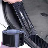 3M/10M Car Sticker Carbon Fiber Vinyl 5D Car Stickers and Decals Anti Scratch Film Automobiles Door Trunk Bumper Protector Car Accessories