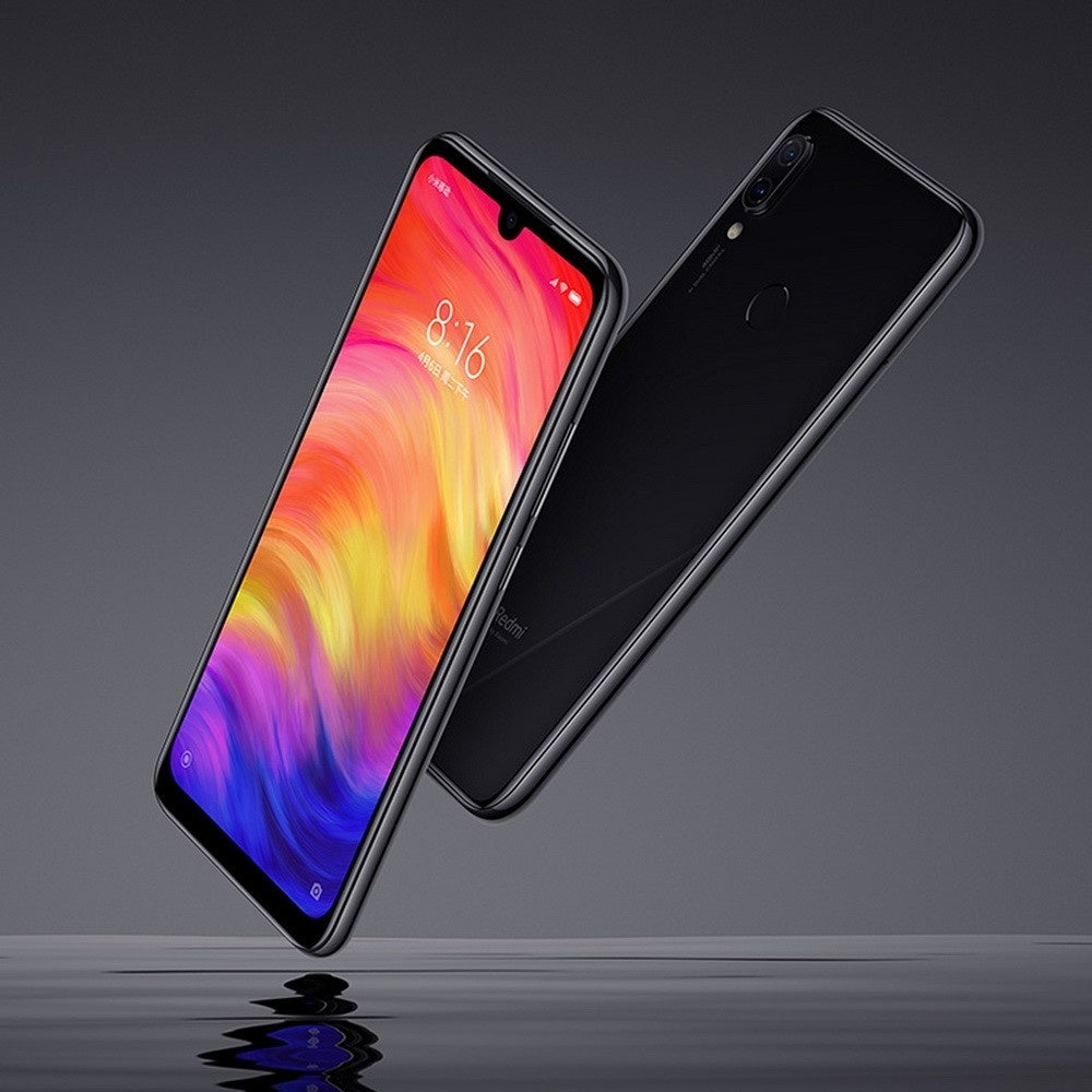 Global ROM Xiaomi Redmi Note 7 6GB RAM 64GB ROM Mobile Phone Snapdragon 660 Octa Core 6.3 Inch 48MP Rear Cam - US Plug