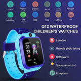 Waterproof Kids Smart Watch Children Sport GPS Tracker Bracelet Phone SOS Call For IOS Android IP67