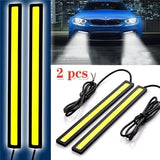 2Pcs 17CM Universal COB LED Strip Car Daytime Running Fog Lamp DRL Driving Strip Light Flexible Led Strip/waterproof 10-16V