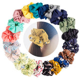 Hair Scrunchies Chiffon Elastic Hair Bands Scrunchy Ties Ropes Scrunchie For Women Girls Hair Accessories
