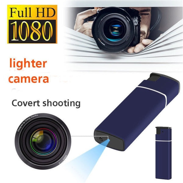 HD Smart Camera Lighter Shaped Video Recorder Mini DV Cam Monitor