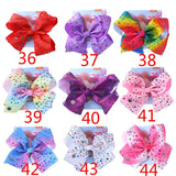 JOJO Siwa Bows Hair Bows Alligator Clips for Girls Unicorn Grosgrain Ribbon Hair Barrettes Accessories for Toddler Kids