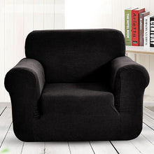 Load image into Gallery viewer, Modern Style Four Seasons Easy Fit Fleece 1/2/3 Seater Sofa Armchair Love Seat Couch Slipcover Stretch Covers Pillow Cover Elastic Fabric Settee Protector Cover