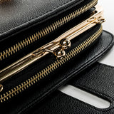 SWDF Spring New Fashion Women Shoulder Bag Chain Strap Flap Designer Handbags Clutch Bag Ladies Messenger Bags with Metal Buckle