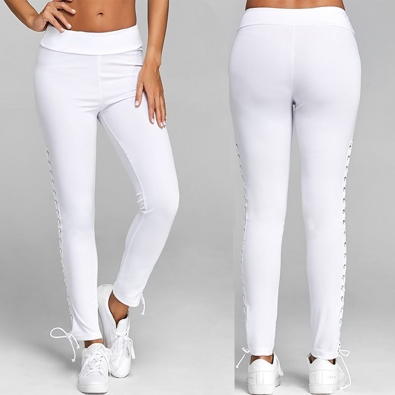 High Waist Slim Skinny Women Leggings Stretchy Pants Jeggings Pencil Pants