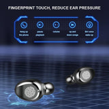 Supper Bass Bluetooth Wireless Earphones Stereo Surround Headset Mini Touch Earbuds Kopfh?rer ¨¦couteurs Auriculares Fones De Ouvido LED Power Display Noise Canceling Headphones with Charging Box