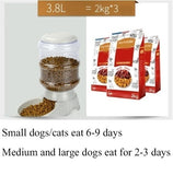 Fashion Home Pet Care Dog Pet Feeder 3.75L Large-capacity Pet Drinking Water / Automatic Feeding Pet Supplies
