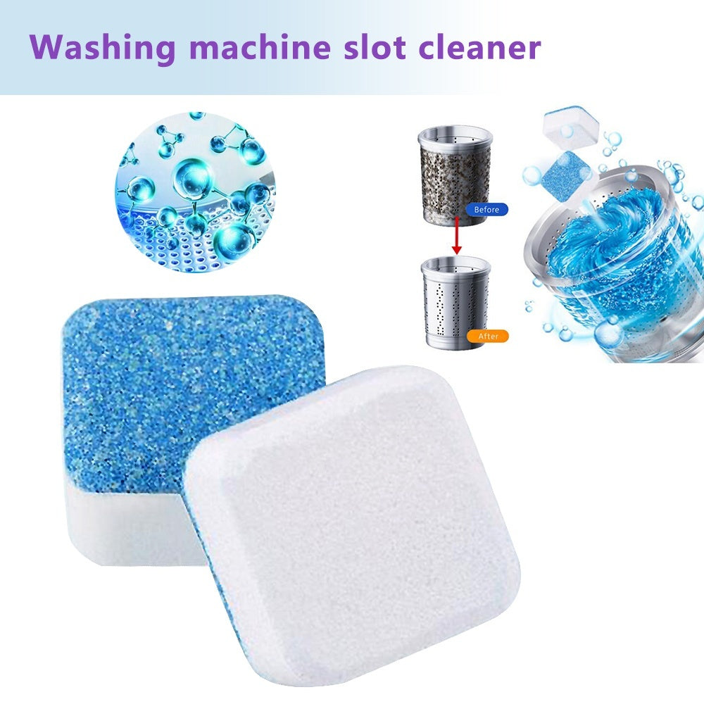 5/10pcs Useful Washing Machine Cleaner Descaler Deep Cleaning Effervescent Tablets Remover Deodorant High Efficiency Cleaner Effervescent