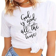 Load image into Gallery viewer, Christian Women's Tshirt God Is Good All The Time Tee For Her