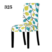 Load image into Gallery viewer, Universal Size Chair Cover Printing Floral Stretch Spandex Chair Protector Slipcover for Wedding Party Banquet Dining Room Home Decor