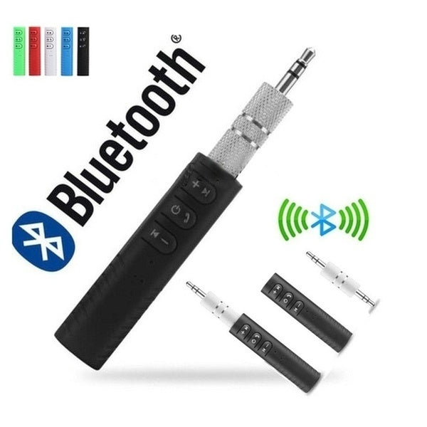 3.5mm Wireless Bluetooth Receiver Stereo Audio Music Bluetooth Receiver Adapter  for Speaker Car Aux Hands Free Kit