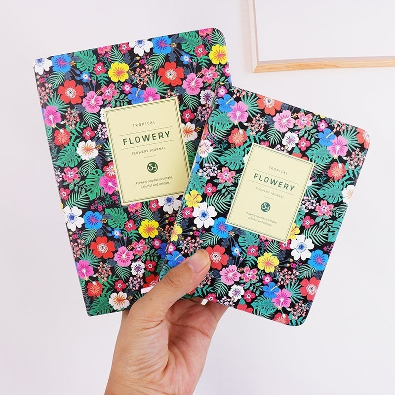 Floral Leather Cover Planner Notebook  Daily planner Weekly Planner Monthly Planner Student Planner Day Planner Daily Deals School Planner Personal Diary Agenda Book Yearly Planner Pocket Planner Dayminder Organizer Planners Stationery Office Supplies A5