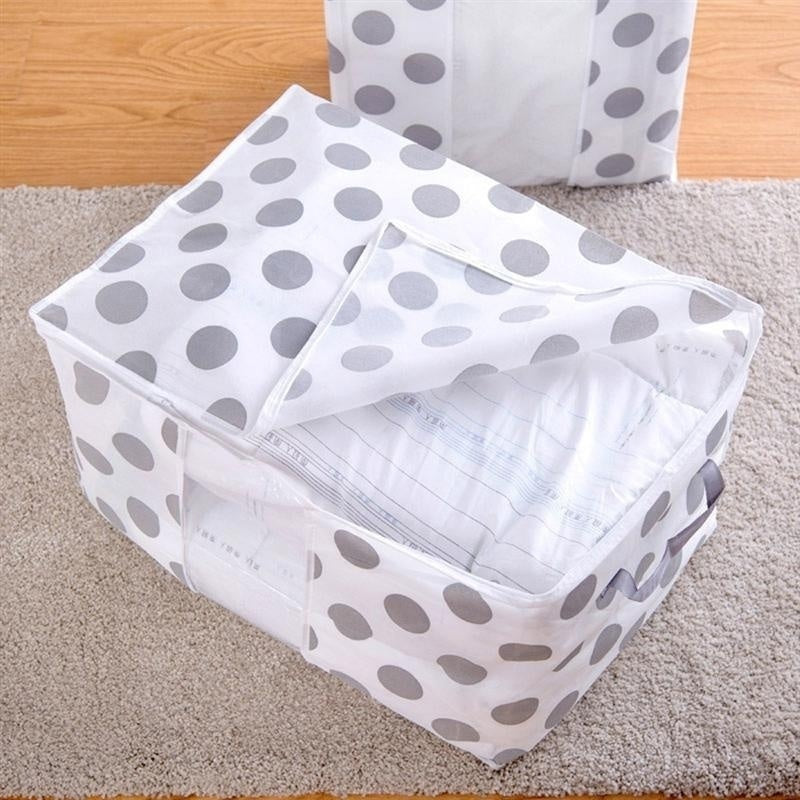 Foldable Storage Bag Out-of-season Clothes Organizer Box Pouches
