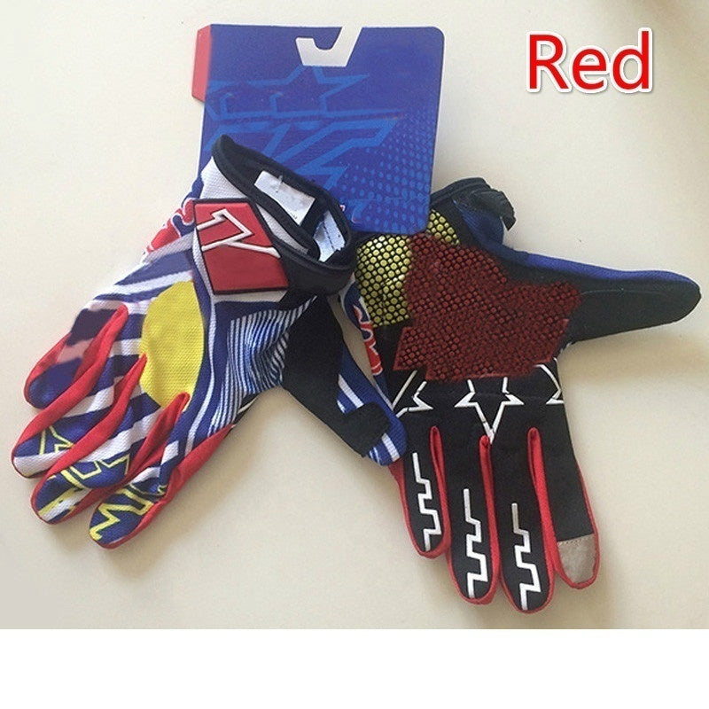 New Motocross Riding Gloves Bicycle Mountain Downhill Climbing Sports Gloves Outdoor Riding Gloves