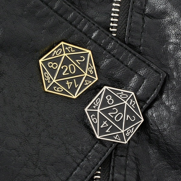 7 Style Punk Vintage Enamel Badge Dungeons and Dragons Pin Collection  DnD  Series Magic Dragon Dice Lapel Pin