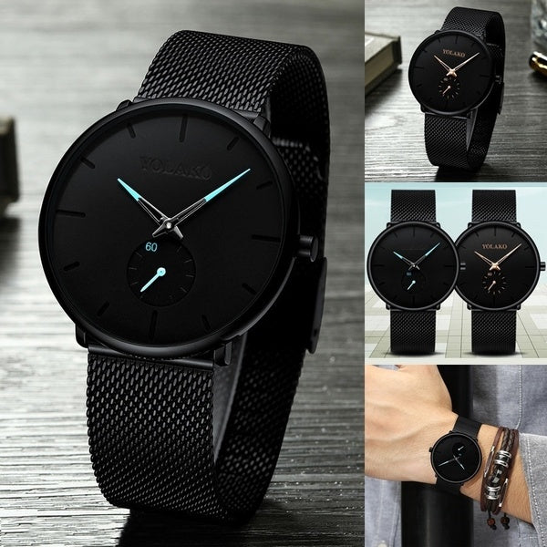 Mens Watch Top Brand Luxury Mens Wristwatch Clock Fashion Sport Quartz Watches Men Business  Chronograph Clock Male