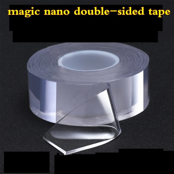 Multi-function Seamless Transparent Waterproof Double-sided Adhesive Nano-gel Acrylic Foam Tape Thickness 2mm