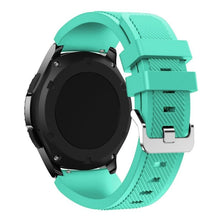 Load image into Gallery viewer, Soft Silicone Replacement Watch Band Wrist Strap Sport Watch Bracelet Belt For Samsung Galaxy Watch 46MM/Samsung Gear S3/Samsung Gear2 R380/Samsung Gear2 Neo R381/Samsung Live R382 PVN