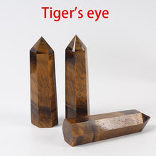 Load image into Gallery viewer, Natural Crystal Point Energy Column Obelisk Hand Polished Very Beautiful