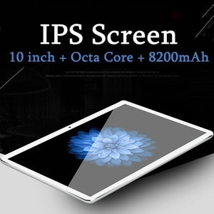 10.1 Inch Tablets Android Wifi Tablet Pc with 8+512GB  Large Memory MTK6797 Dual SIM Cards Phone 4G Call Wifi Tablets PC Adroid Tablet Cheap Tablets Pc