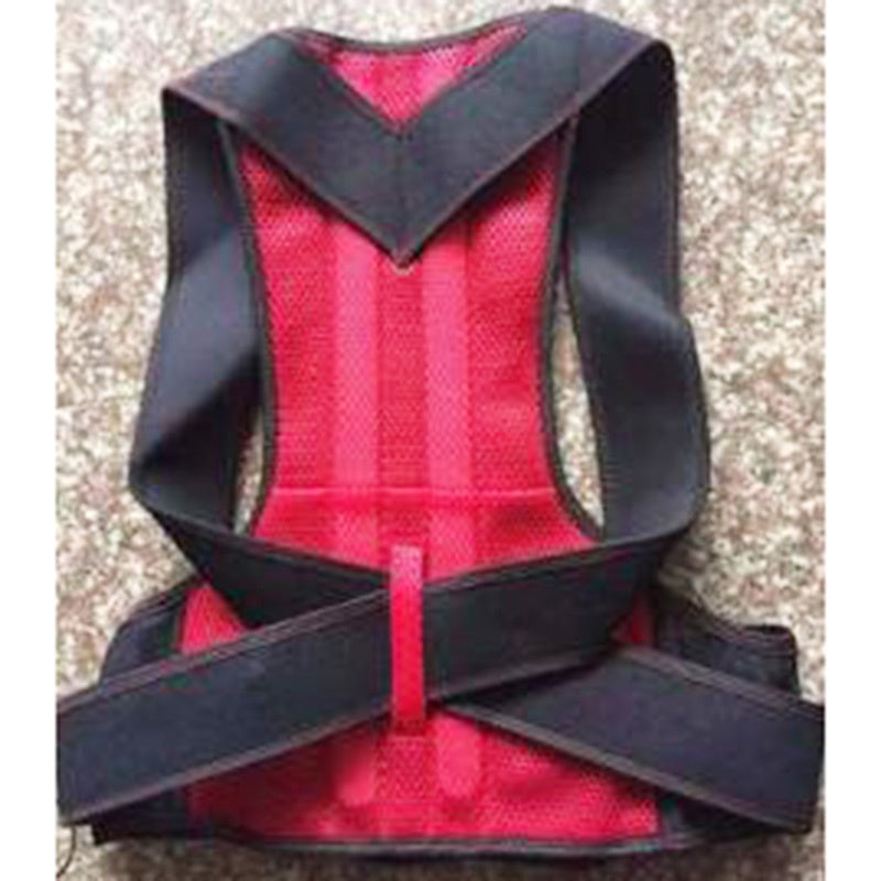 Women and Men Adjustable Hump Correction Back Support Shoulder Lumbar Brace Belt Therapy Neck